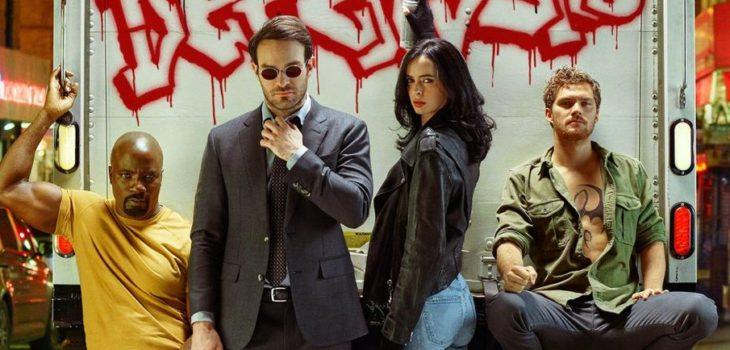 """Estos son """"Los defendores"""" de Marvel y Netflix   www.ew.com"""