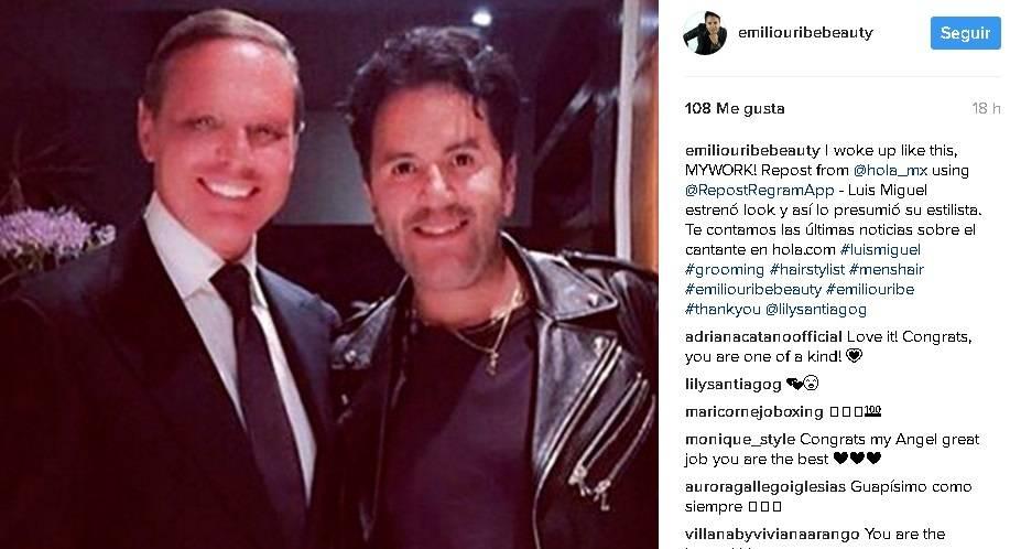 Luis Miguel | Instagram