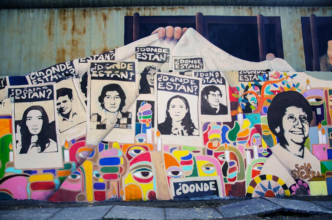 "El mural ""Memoria Futuro"""