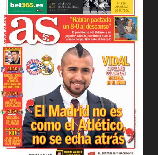 As. com | Portada Diario As