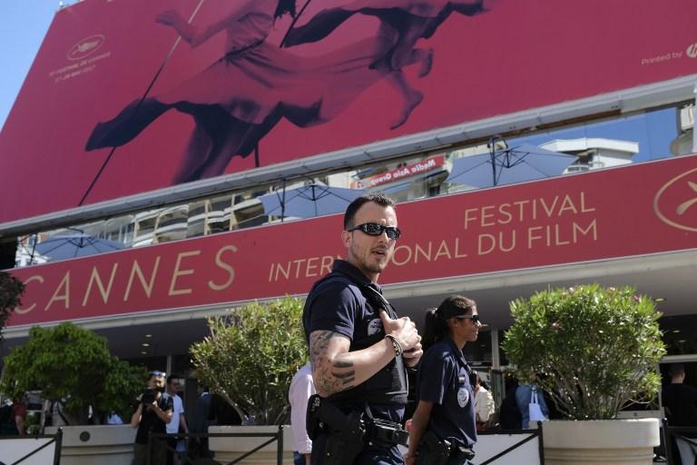 Parte del dispositivo de seguridad para Cannes | AFP | Alberto Pizzoli