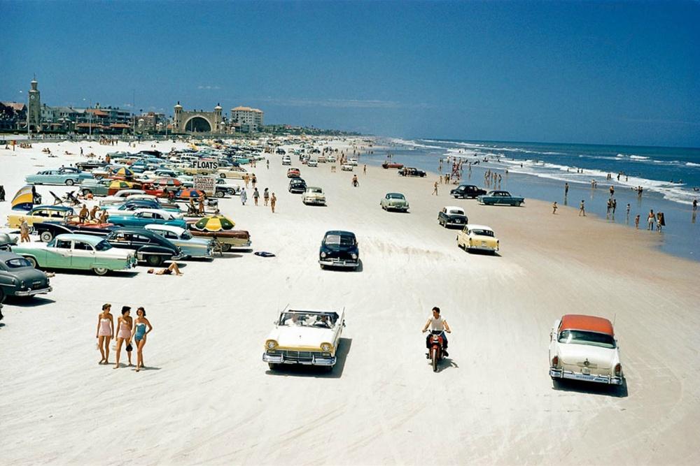 Daytona Beach, Florida, 1957.