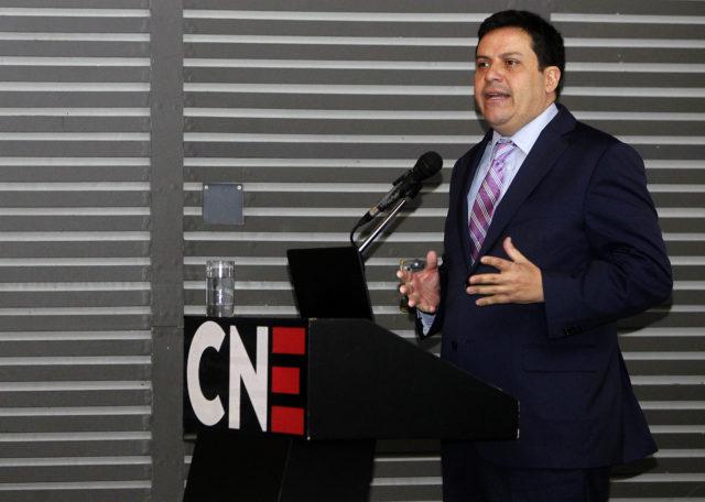 Andrés Romero, secretario Ejecutivo de la Comisión Nacional de Energía