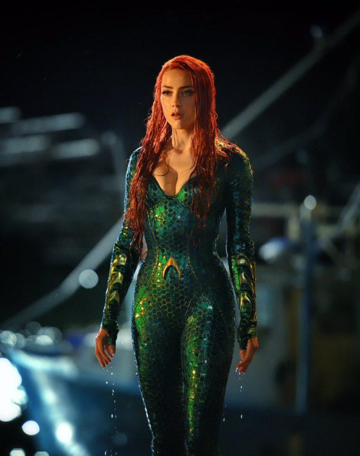Mira la primera imagen de Amber Heard como Mera en