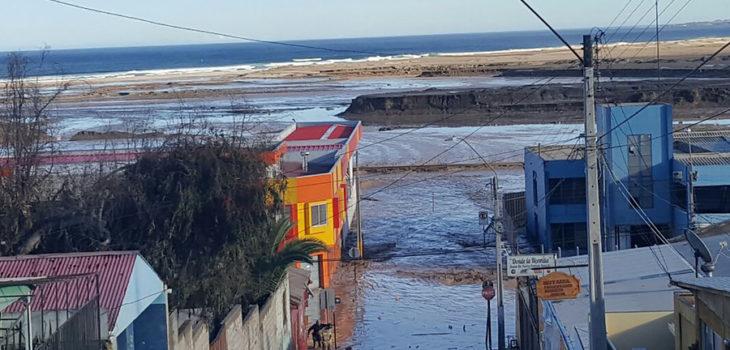 Desborde del Rio El Salado en Chañaral   Guido Castillo   Agencia UNO