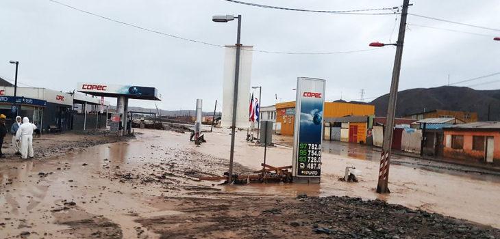 Diego de Almagro tras la salida del rio   Agencia UNO