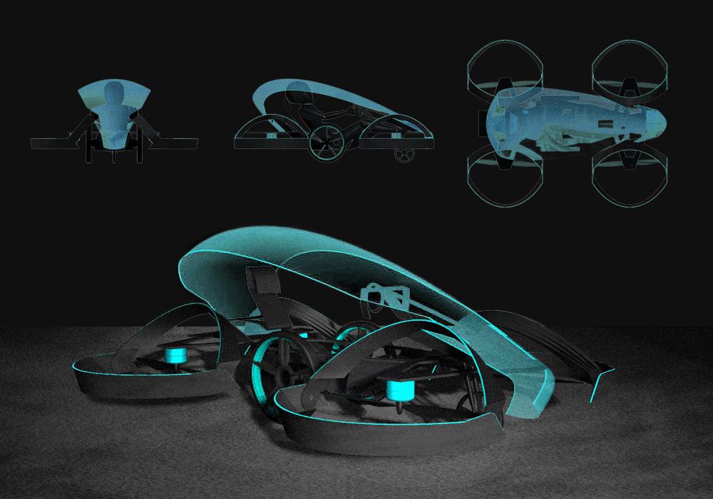 Idea del prototipo de Skydrive | Cartivator.com