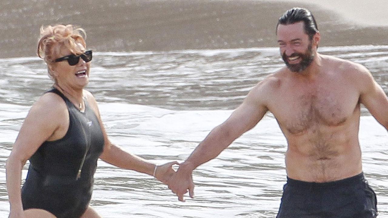 Hugh Jackman y su esposa de vacaciones   Daily Mail