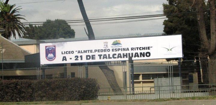 Se Reanudadas las clases en liceo de talcahuano