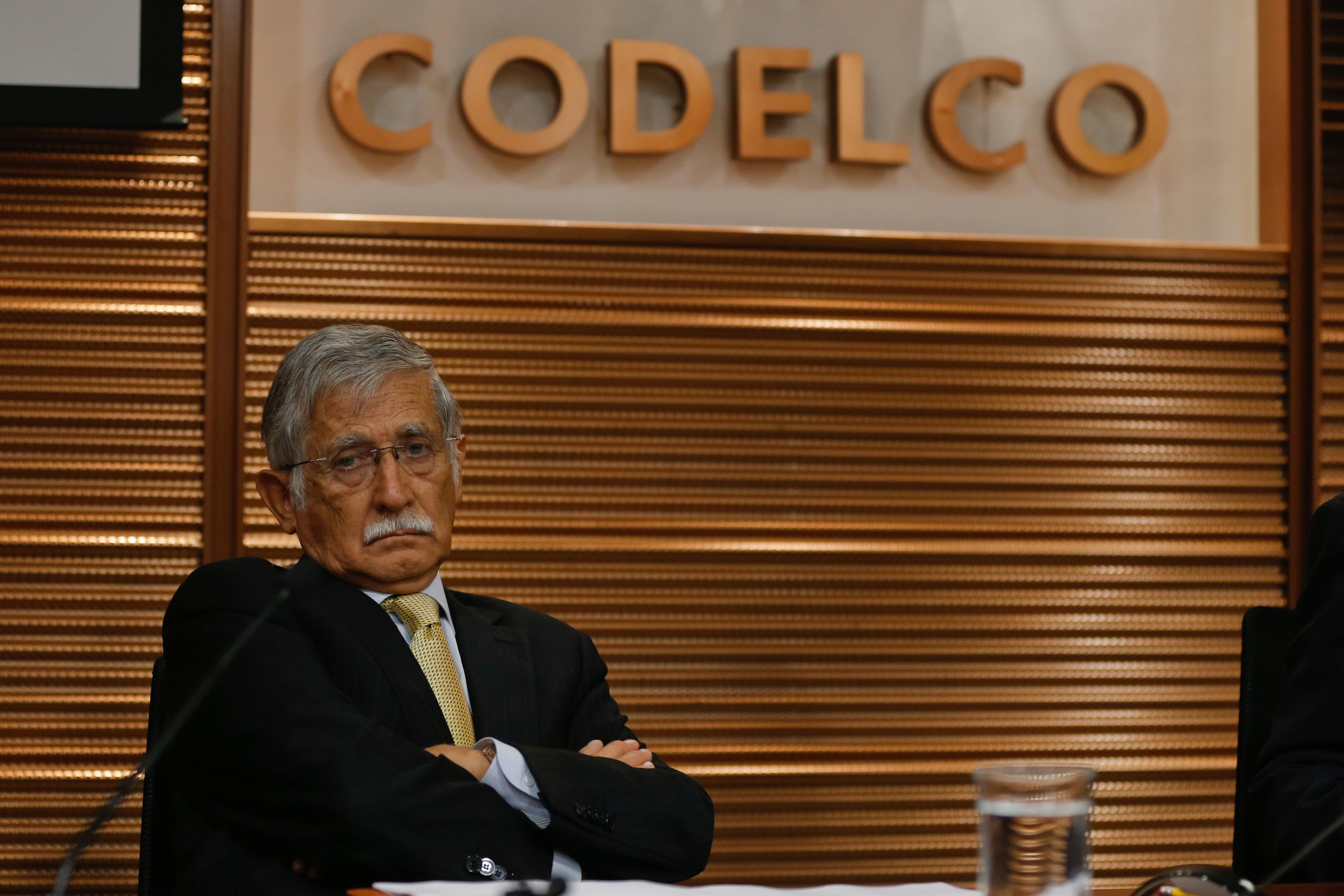 Nelson Pizarro, presidente ejecutivo de Codelco