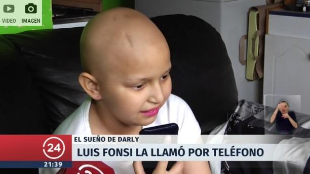 Luis Fonsi sorprendió a la nena con cáncer que baila Despacito