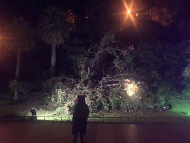"""Las feroces tormentas en Chile destrozaron el reloj de Viña del Mar"""""""
