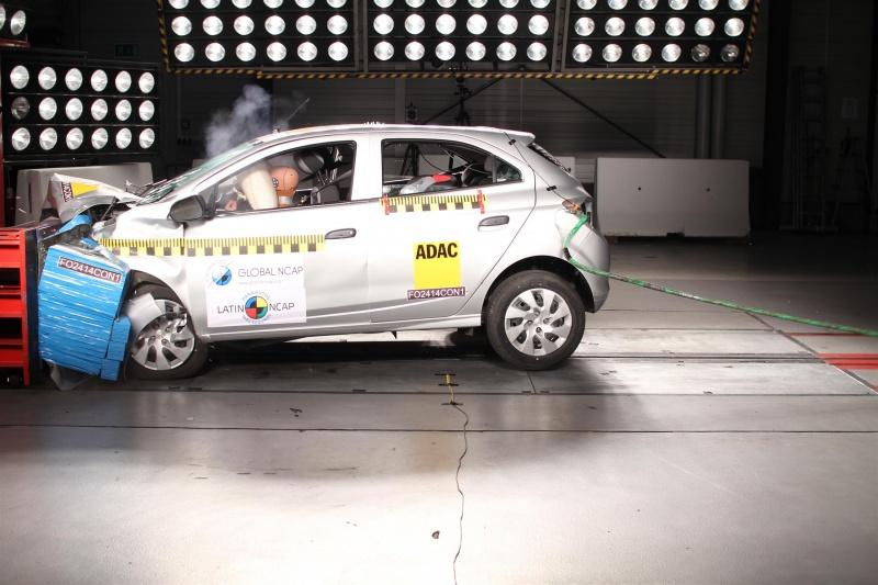 Chevrolet Onix en prueba de Latin NCAP