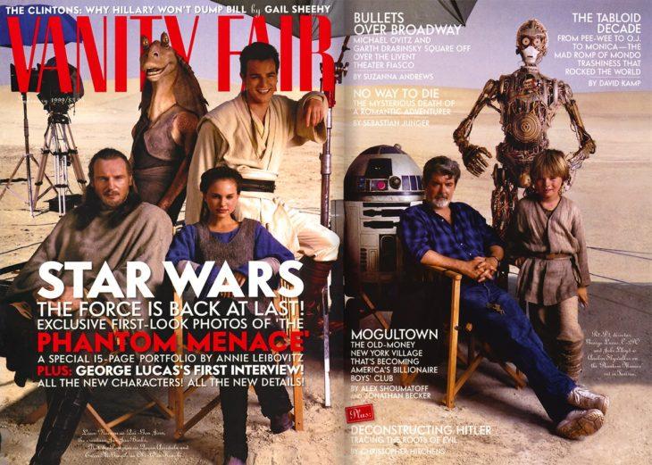 Vanity Fair dedica cuatro portadas a Los últimos Jedi