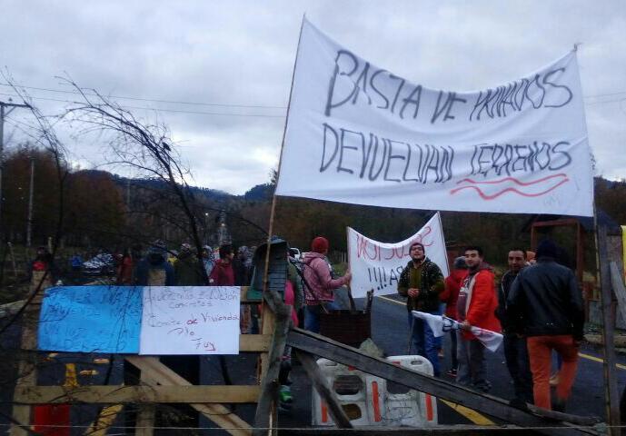 Protesta Puerto Fuy | Denis Segura (RBB)