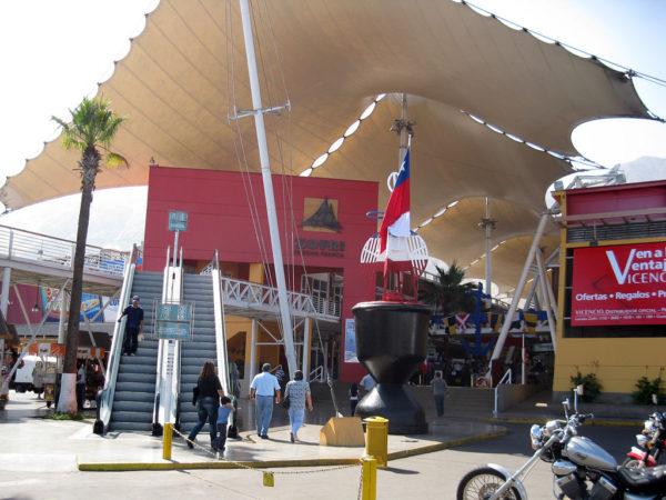 Entrada Mall Zofri.