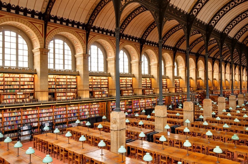 Biblioteca de Santa Genoveva   Jastrow en Flickr (cc)