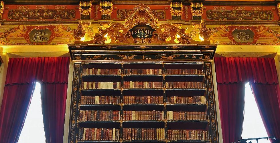 Biblioteca General de la Universidad de Coímbra   visit.uc.pt