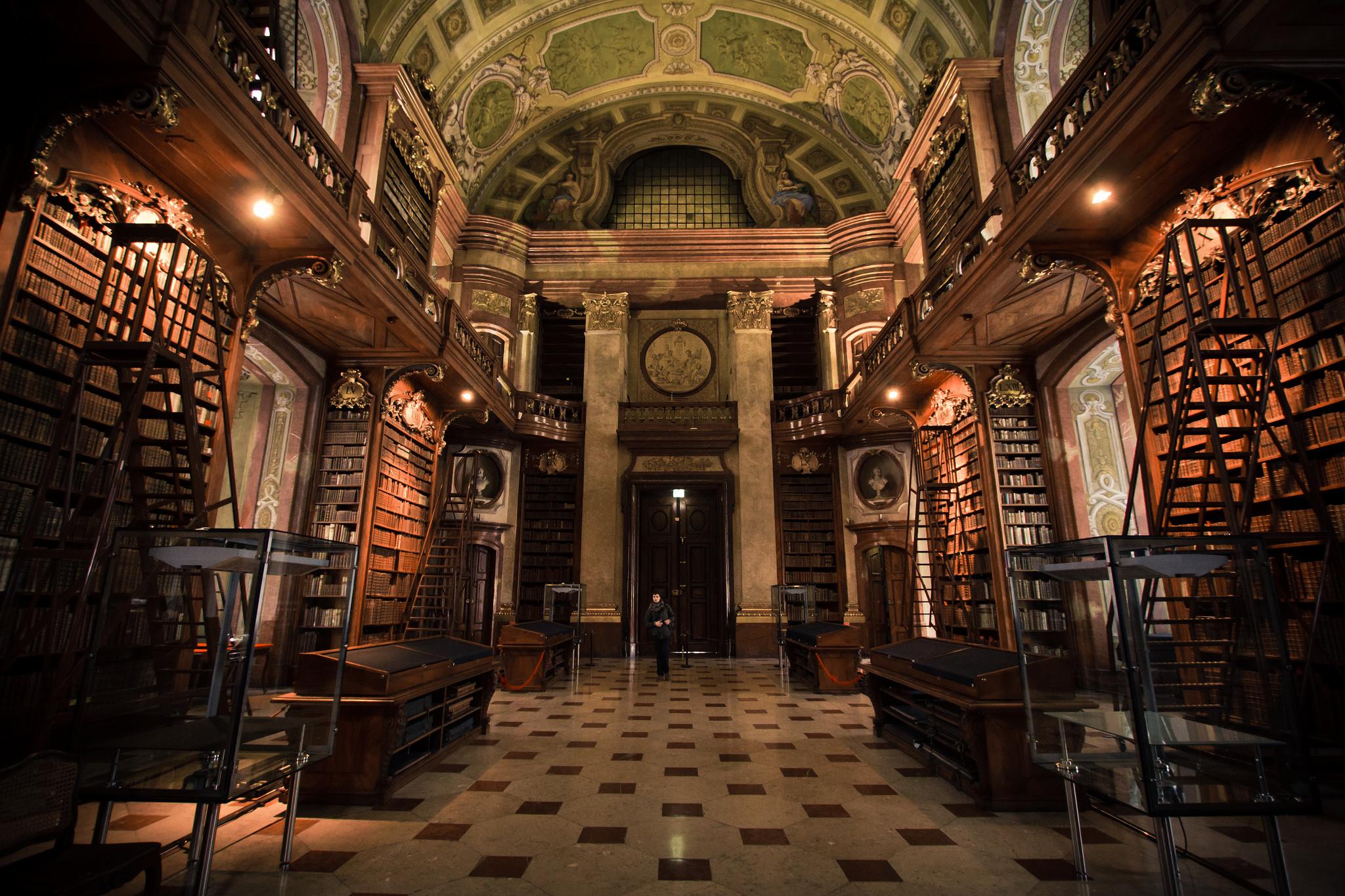 Biblioteca Nacional de Austria   @hernanpc en Flickr (cc)