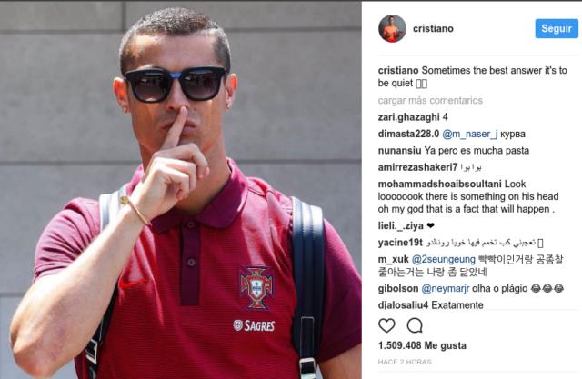 Cristiano Ronaldo en Instagram