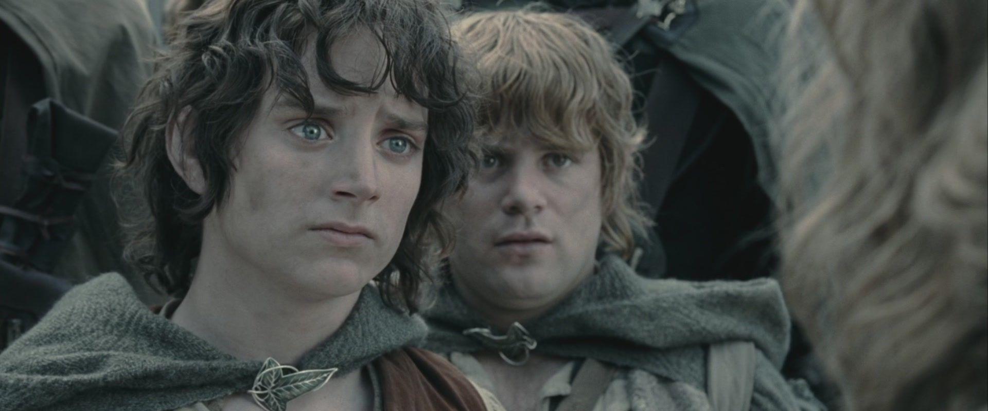 """Hobbits de """"El señor de los anillos"""""""