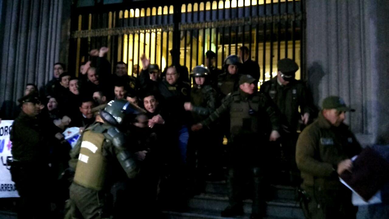 21 gendarmes detenidos en intento de toma del Ministerio de Justicia