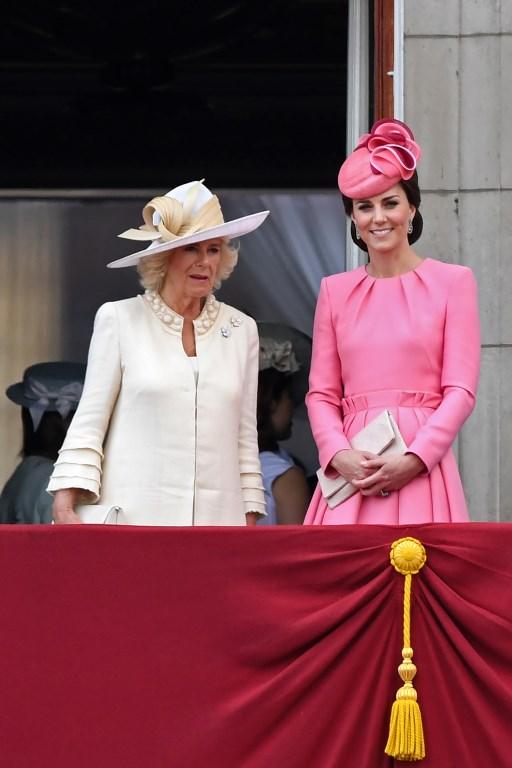 Duquesas Camilla (izquierda) y Catherine (derecha) | Chris J Ratcliffe | AFP
