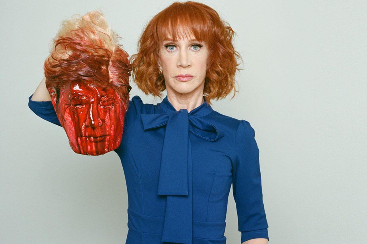 Donald Trump usa a Kathy Griffin para desviar la atención mediática