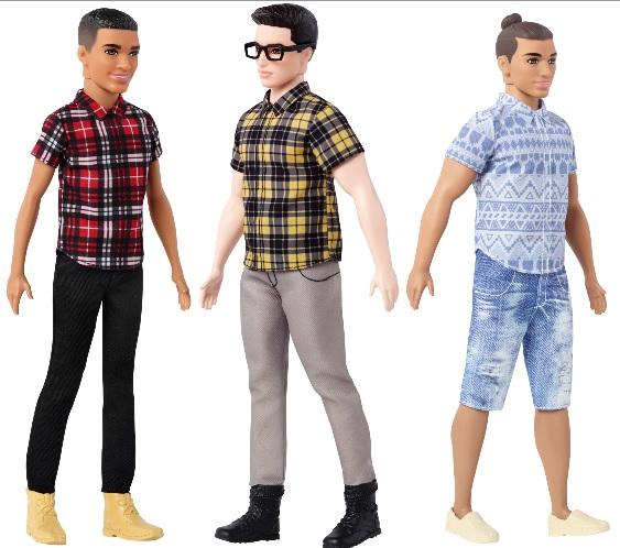 Delgado, original y atlético   Mattel