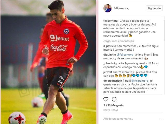 Felipe Mora I Instagram