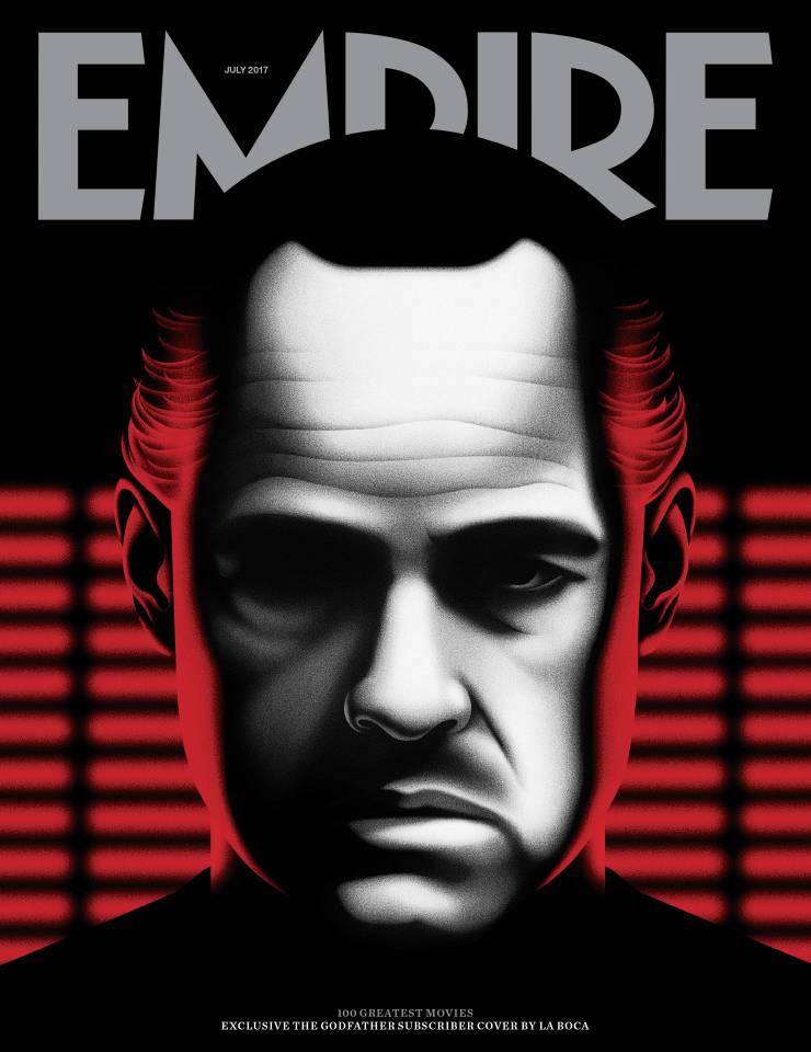 """Portada especial de """"Empire"""" de las 100 mejores películas de todos los tiempos"""
