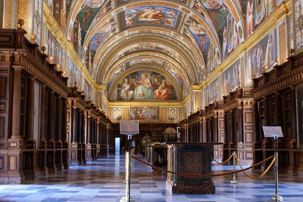 Real Biblioteca del Monasterio de San Lorenzo de El Escorial   rbme.patrimonionacional.es