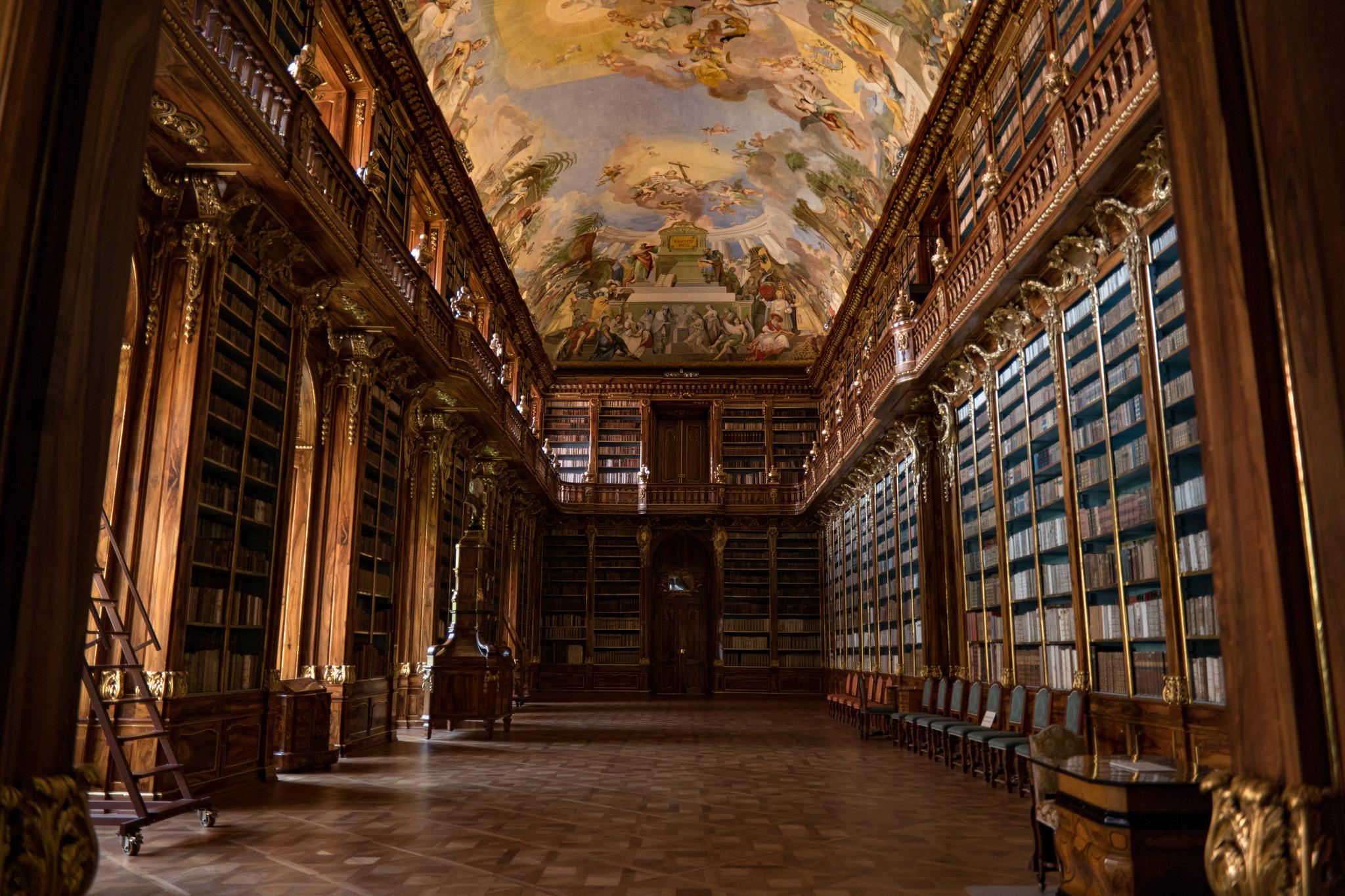 Sala Filosófica de la Biblioteca de Strahov   @nanpalmero en Flick (cc)