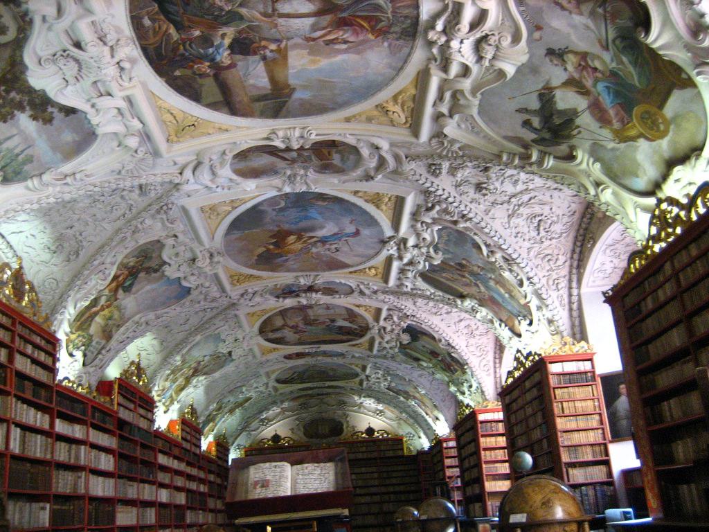 Sala Teológica de la Biblioteca de Strahov    @maguisso en Flickr (cc)