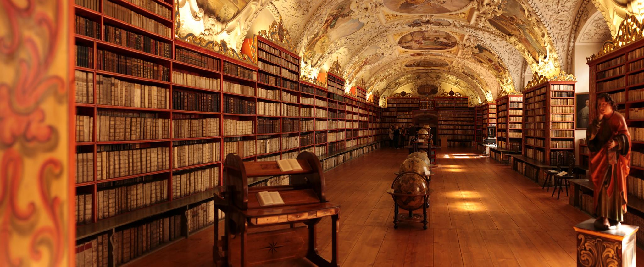 Sala Teológica de la Biblioteca de Strahov   @Chriswaits en Flickr (cc)