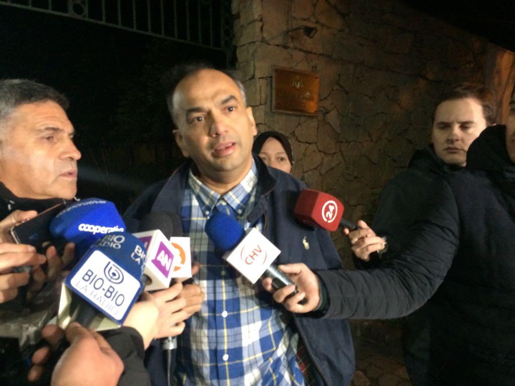 Embajador de Malasia en Chile fue víctima de un millonario robo