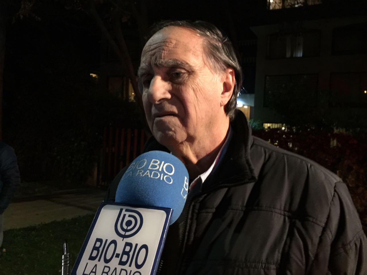 Roban a Augusto Pinochet Hiriart un auto propiedad de su padre
