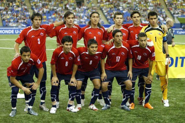Selección de Chile sub-20 / Agence France-Presse