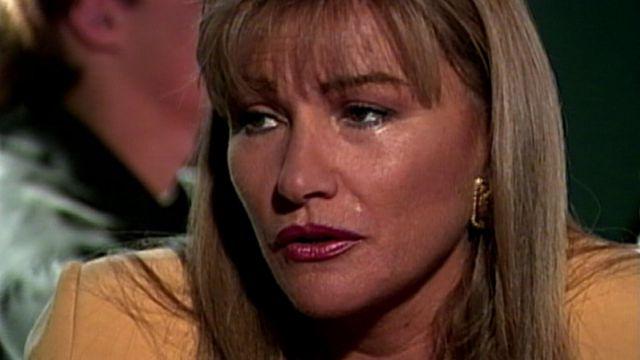 Sandra Solimano en la teleserie Champania