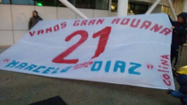 Apoyo a Marcelo Díaz / Felipe Véliz (RBB)