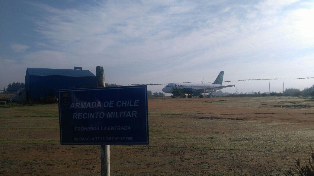 Avión de SKY que iba a Antofagasta aterrizó de emergencia en Valparaíso