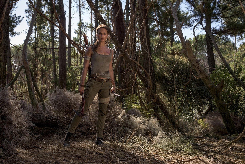 "Alicia Vikander como Lara Croft en ""Tomb Raideer"""