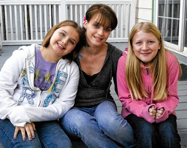 Kandace Seyferth, Madisyn Kestell y  Katelynn Vreeke