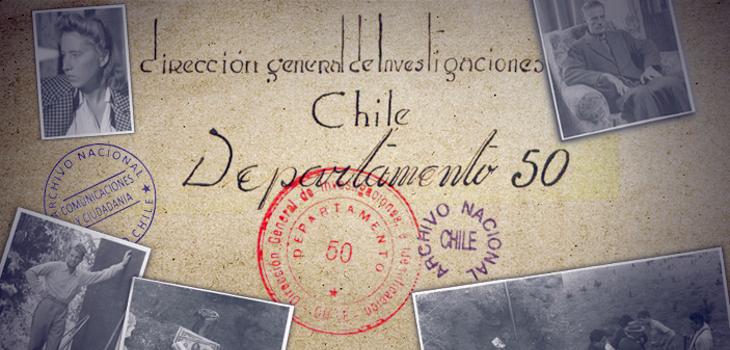 Departamento 50 | Archivo Nacional