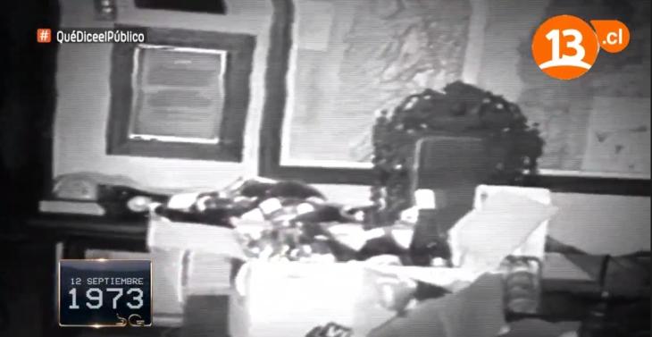 Las imágenes de la casa de Salvador Allende que finalmente fueron emitidas sin Don Francisco