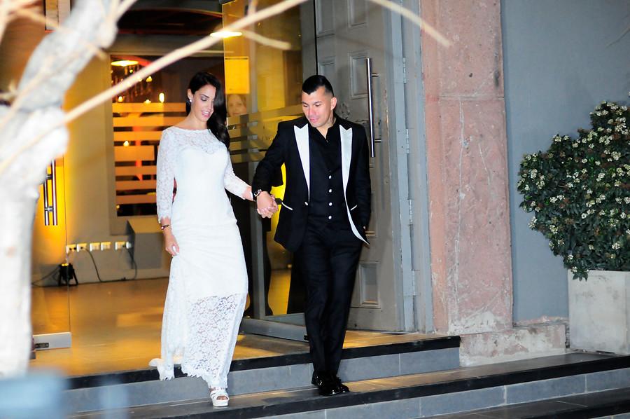 Matrimonio de Gary Medel y Cristina Morales | Sebastián Beltrán | Agencia UNO
