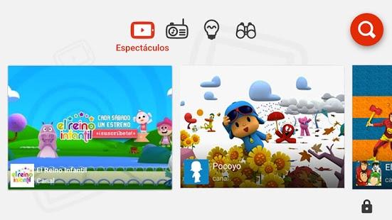 Así se ve Youtube Kids en tu dispositivo móvil – Google Play.