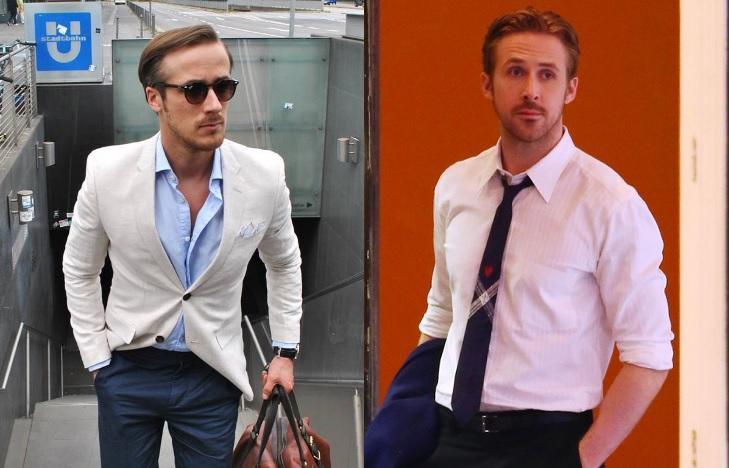 Izquierda: Johannes Laschet  (Instagram) | Derecha: Ryan Gosling (La La Land)