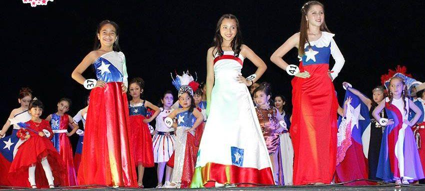 Competencia de trajes patriotas | Miss Mini Chile | Facebook
