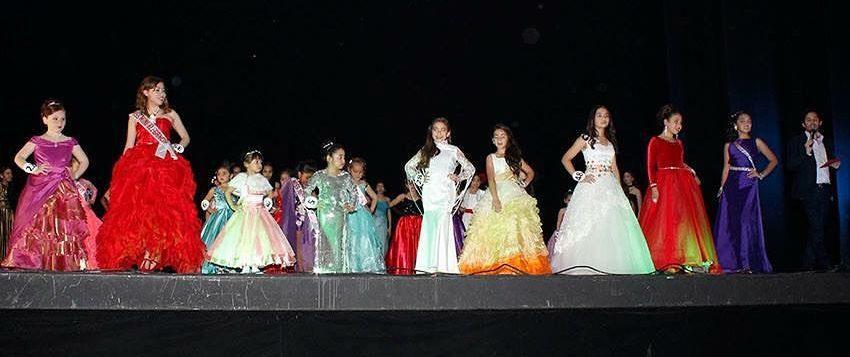 Competencia de trajes de noche | Miss Mini Chile | Facebook